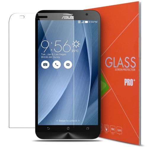 """Glass Pro+ Ultra HD 9H 0.33mm Tempered Glass Screen Protector for Asus Zenfone 2 5.5"""""""