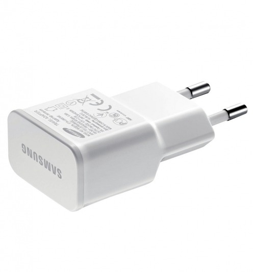 Original Samsung EU AC wall charger to USB 5V/2A ETA-U90EWE White