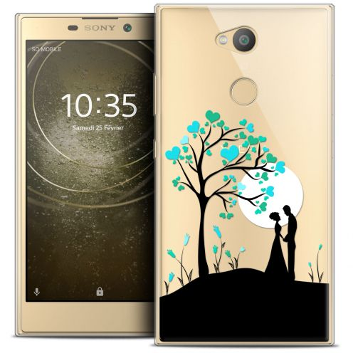 "Extra Slim Crystal Gel Sony Xperia L2 (5.5"") Case Love Sous l'arbre"