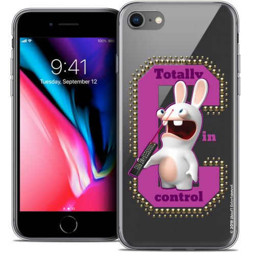 "Crystal Gel Apple iPhone 7 (4.7"") Case Lapins Crétins™ In Control !"