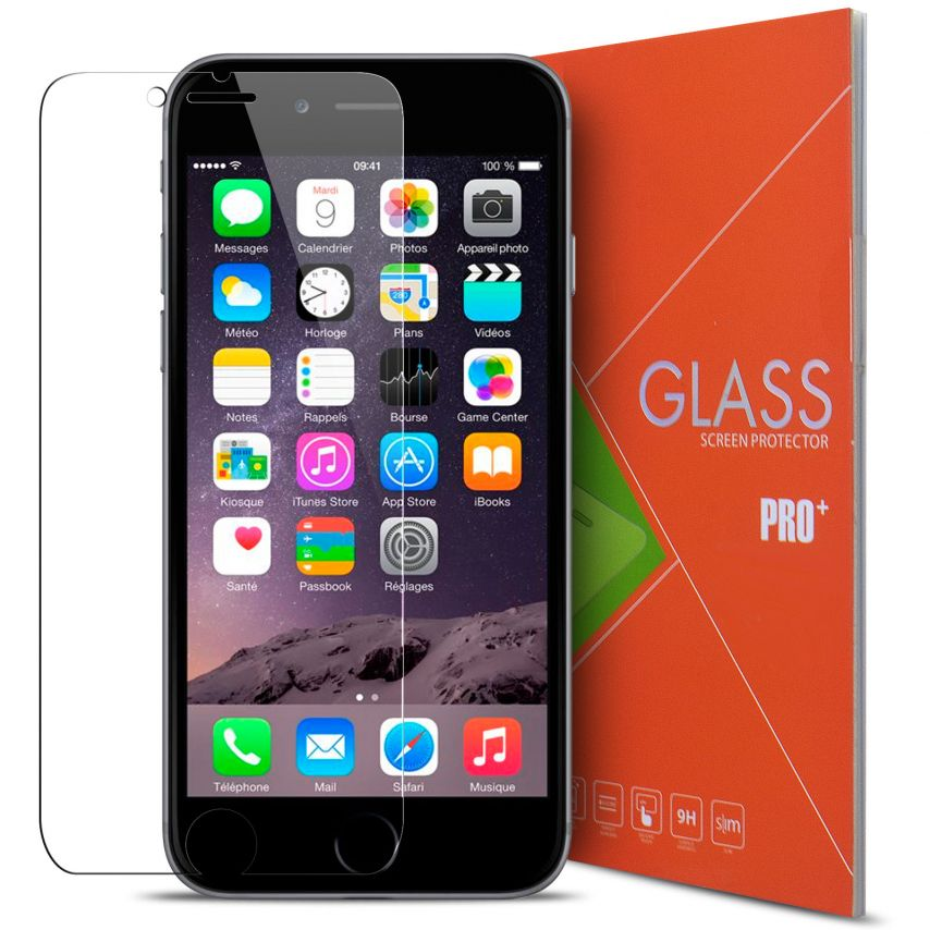 """Glass Pro+ Ultra HD 9H 0.33mm Tempered Glass Screen Protector for Apple iPhone 6/6S 4.7"""""""