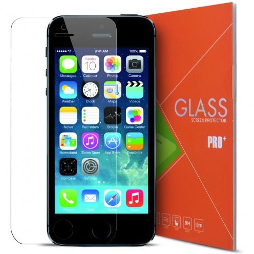 Glass Pro+ Ultra HD 9H 0.33mm Tempered Glass Screen Protector for Apple iPhone 5/5S