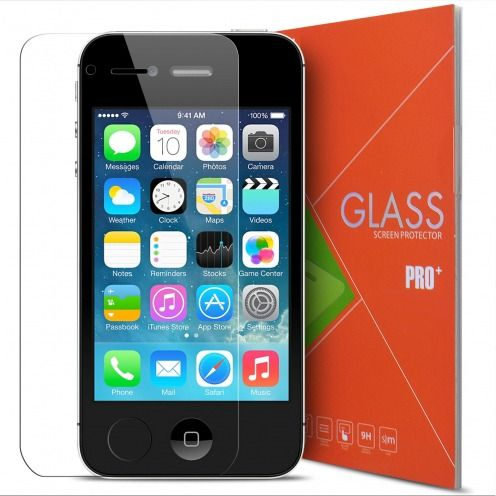 Glass Pro+ Ultra HD 9H 0.33mm Tempered Glass Screen Protector for Apple iPhone 4/4S