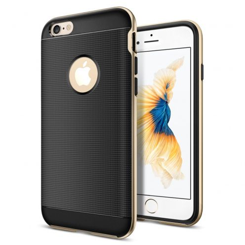 Neo Bumper Hybrid™ Series Case for iPhone 6/6s (4.7) - Champagne Gold