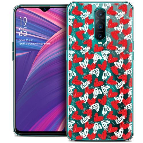 """Extra Slim Crystal Gel Oppo RX17 Pro (6.4"""") Case Love With Love"""