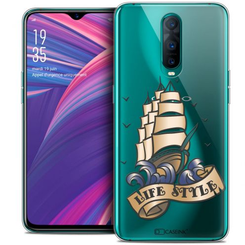 """Extra Slim Crystal Gel Oppo RX17 Pro (6.4"""") Case Tatoo Lover Life Style"""