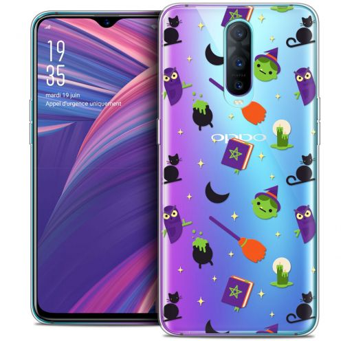 """Extra Slim Crystal Gel Oppo RX17 Pro (6.4"""") Case Halloween Witch Potter"""