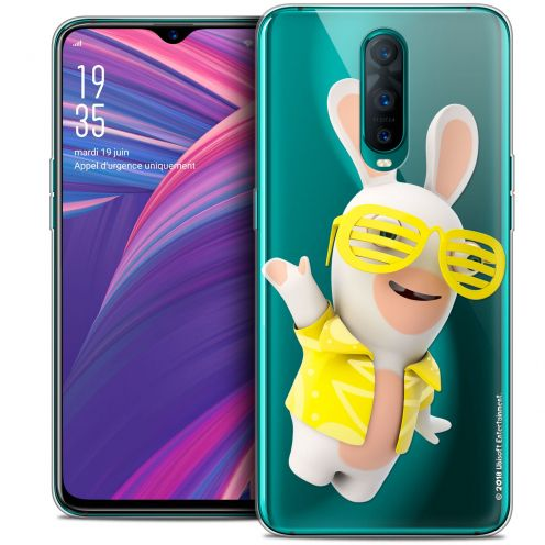 "Crystal Gel Oppo RX17 Pro (6.4"") Case Lapins Crétins™ Sun Glassss!"