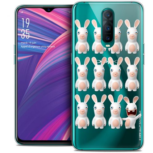 "Crystal Gel Oppo RX17 Pro (6.4"") Case Lapins Crétins™ Im ready Pattern"