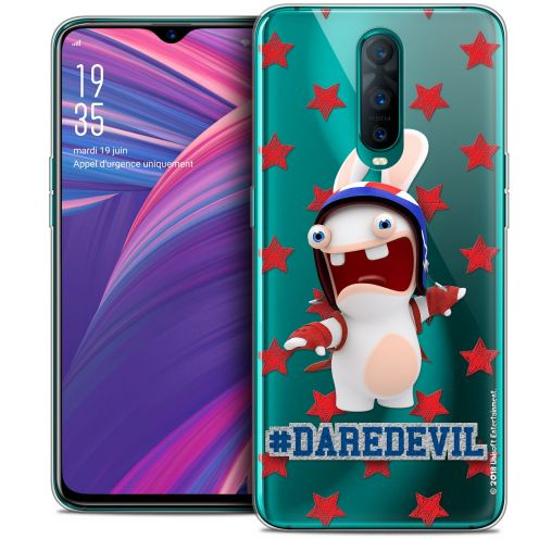 "Crystal Gel Oppo RX17 Pro (6.4"") Case Lapins Crétins™ Dare Devil"