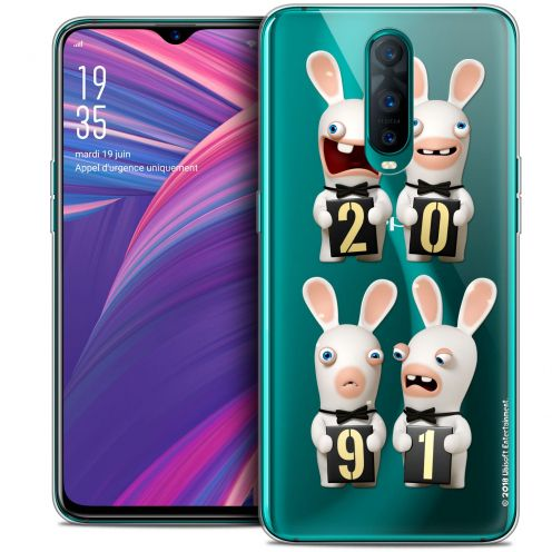"Crystal Gel Oppo RX17 Pro (6.4"") Case Lapins Crétins™ New Year"