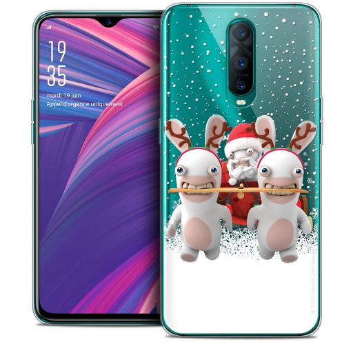 "Crystal Gel Oppo RX17 Pro (6.4"") Case Lapins Crétins™ Lapin Traineau"