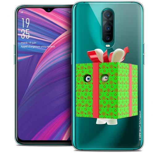 "Crystal Gel Oppo RX17 Pro (6.4"") Case Lapins Crétins™ Lapin Surprise Vert"