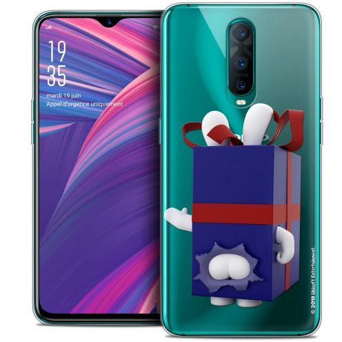 "Crystal Gel Oppo RX17 Pro (6.4"") Case Lapins Crétins™ Lapin Surprise Bleu"