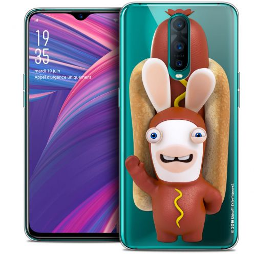 "Crystal Gel Oppo RX17 Pro (6.4"") Case Lapins Crétins™ Hot Dog Crétin"