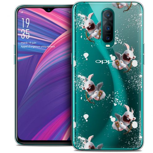 "Crystal Gel Oppo RX17 Pro (6.4"") Case Lapins Crétins™ Cupidon Pattern"