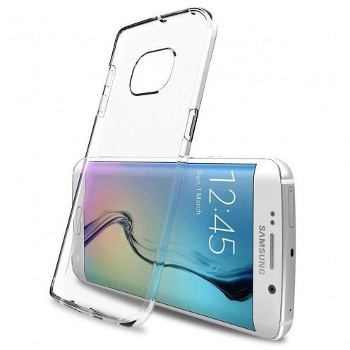 """Crystal Clear"" flexible case for Samsung Galaxy S6 Edge+ / Plus"