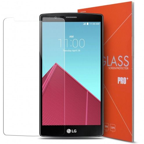 Glass Pro+ Ultra HD 9H 0.33 mm Tempered Glass Screen Protector for LG G4