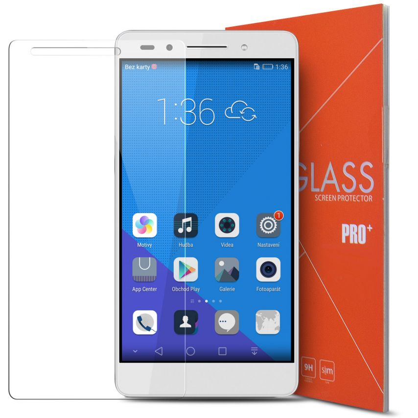 Glass Pro+ Ultra HD 9H 0.33 mm Tempered Glass Screen Protector for Huawei Honor 7
