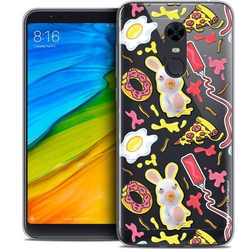 "Crystal Gel Xiaomi Redmi 5 Plus (6"") Case Lapins Crétins™ Egg Pattern"