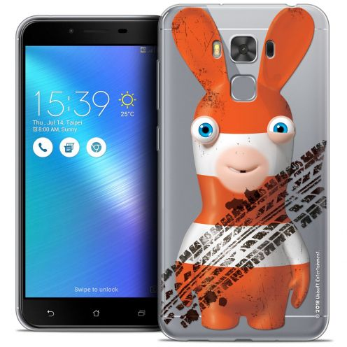 """Crystal Gel Asus Zenfone 3 Max Plus ZC553KL (5.5"""") Case Lapins Crétins™ On the Road"""