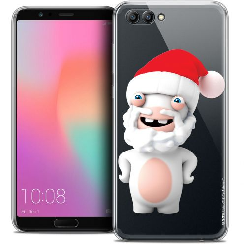 "Crystal Gel Honor View 10 / V10 (6"") Case Lapins Crétins™ Lapin Noël"