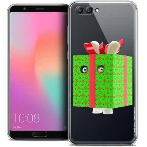 "Crystal Gel Honor View 10 / V10 (6"") Case Lapins Crétins™ Lapin Surprise Vert"