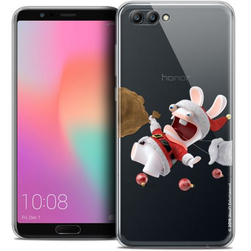 "Crystal Gel Honor View 10 / V10 (6"") Case Lapins Crétins™ Père Lapin Crétin"