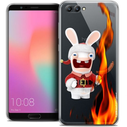 "Crystal Gel Honor View 10 / V10 (6"") Case Lapins Crétins™ BBQ de Noël"