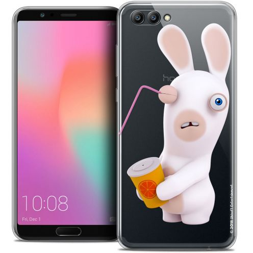 "Crystal Gel Honor View 10 / V10 (6"") Case Lapins Crétins™ Soda Crétin"