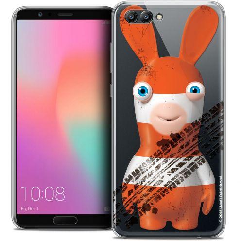 "Crystal Gel Honor View 10 / V10 (6"") Case Lapins Crétins™ On the Road"