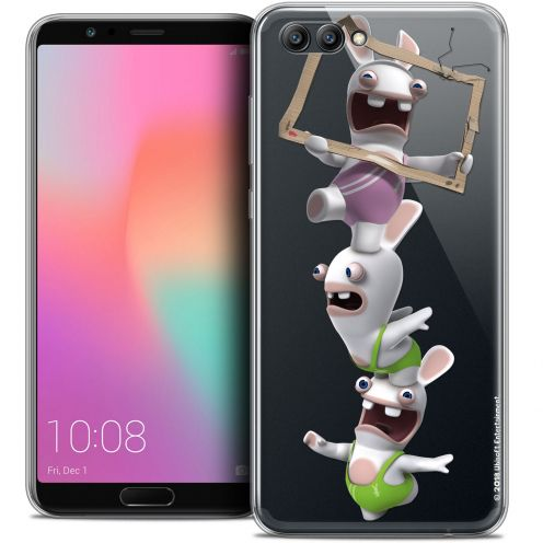 "Crystal Gel Honor View 10 / V10 (6"") Case Lapins Crétins™ TV Sport"