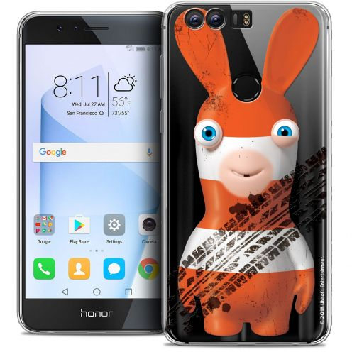 """Crystal Gel Huawei Honor 8 (5.2"""") Case Lapins Crétins™ On the Road"""