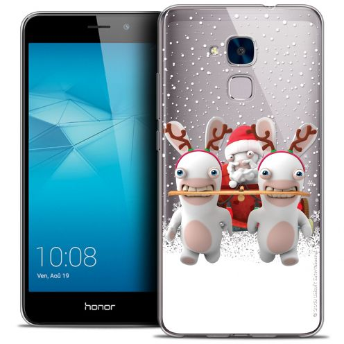 Crystal Gel Huawei Honor 5C Case Lapins Crétins™ Lapin Traineau