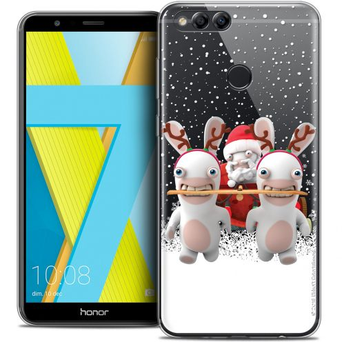 """Crystal Gel Honor 7X (5.9"""") Case Lapins Crétins™ Lapin Traineau"""