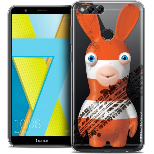 """Crystal Gel Honor 7X (5.9"""") Case Lapins Crétins™ On the Road"""
