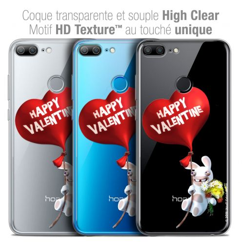 "Crystal Gel Huawei Honor 9 LITE (5.7"") Case Lapins Crétins™ Valentin Crétin"