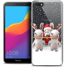 """Crystal Gel Honor 7S (5.45"""") Case Lapins Crétins™ Lapin Traineau"""