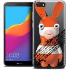 """Crystal Gel Honor 7S (5.45"""") Case Lapins Crétins™ On the Road"""