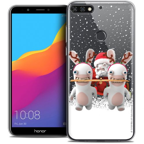"Crystal Gel Honor 7C (5.99"") Case Lapins Crétins™ Lapin Traineau"