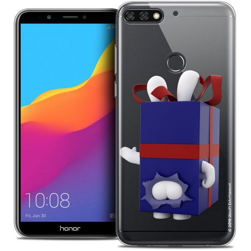 "Crystal Gel Honor 7C (5.99"") Case Lapins Crétins™ Lapin Surprise Bleu"