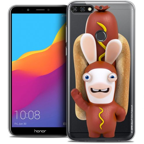 "Crystal Gel Honor 7C (5.99"") Case Lapins Crétins™ Hot Dog Crétin"