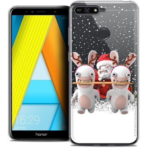 """Crystal Gel Honor 7A (5.7"""") Case Lapins Crétins™ Lapin Traineau"""