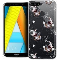 """Crystal Gel Honor 7A (5.7"""") Case Lapins Crétins™ Cupidon Pattern"""