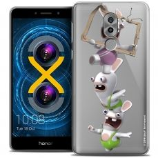 Crystal Gel Huawei Honor 6X Case Lapins Crétins™ TV Sport