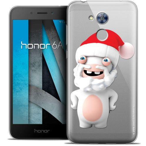 "Crystal Gel Huawei Honor 6A (5"") Case Lapins Crétins™ Lapin Noël"