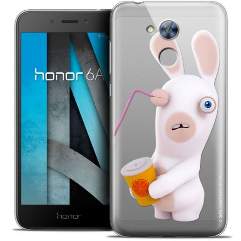 "Crystal Gel Huawei Honor 6A (5"") Case Lapins Crétins™ Soda Crétin"