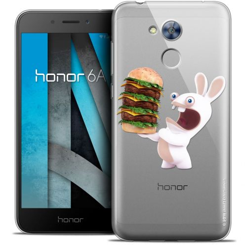 "Crystal Gel Huawei Honor 6A (5"") Case Lapins Crétins™ Burger Crétin"