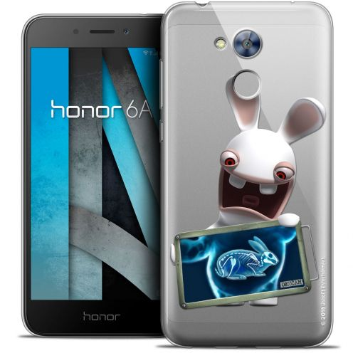 "Crystal Gel Huawei Honor 6A (5"") Case Lapins Crétins™ X Ray Crétin"