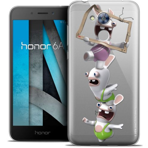 "Crystal Gel Huawei Honor 6A (5"") Case Lapins Crétins™ TV Sport"